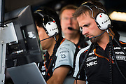 September 2, 2016: Force India engineers , Italian Grand Prix at Monza