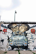 GERMANY - BERLIN - The East Side Gallery, a spot in Berlin where a part of the Berlin Wall has been preserved. PHOTO GERRIT DE HEUS