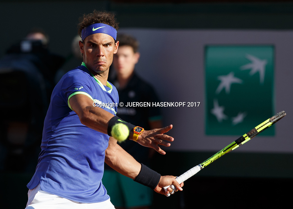 RAFAEL NADAL (ESP)<br /> <br /> Tennis - French Open 2017 - Grand Slam / ATP / WTA / ITF -  Roland Garros - Paris -  - France  - 9 June 2017.