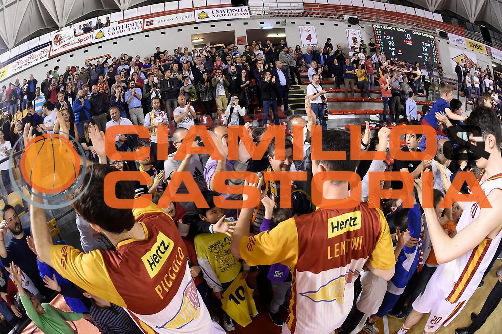 Unicusano Roma<br /> Unicusano Roma - OraSi Ravenna<br /> Campionato Basket LNP 2016/2017<br /> Roma 05/05/2017<br /> Foto Ciamillo-Castoria