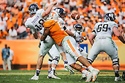 TAMPA, FL - JANUARY 01, 2016 defensive end Derek Barnett #9 of the Tennessee Volunteers during the Outback Bowl between the Tennessee Volunteers and the Northwestern Wildcats at Raymond James Stadium in Tampa, FL. Photo By Craig Bisacre/Tennessee Athletics