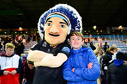 Exeter Chiefs fans with Big Chief  - Mandatory by-line: Dougie Allward/JMP - 30/11/2019 - RUGBY - Sandy Park - Exeter, England - Exeter Chiefs v Wasps - Gallagher Premiership Rugby