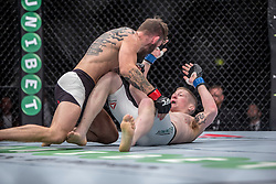 Robert Whiteford (SCO, beard) beat Paul Redmond (IRE). UFC Glasgow on Saturday, July 18 at The Hydro.