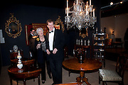 ALASTAIR CAMPBELL; LYNDA LOGAN. Bada Antiques Fine art Fair charity Gala. In aid of Leukaemia and Lymphoma Research. 18 March 2010.