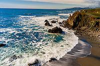 Seascape near Coleman Beach along Highway 1, Sonoma County, California USA