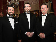 At the SCSI, (Society of Chartered Surveyors Ireland) - Western Region Annual Dinner 2016 in the Ardilaun Hotel Galway were George Brady, DTZ, Noel Conroy, MJ Conroy and John Heapes AIB . Photo:Andrew Downes, xpousre