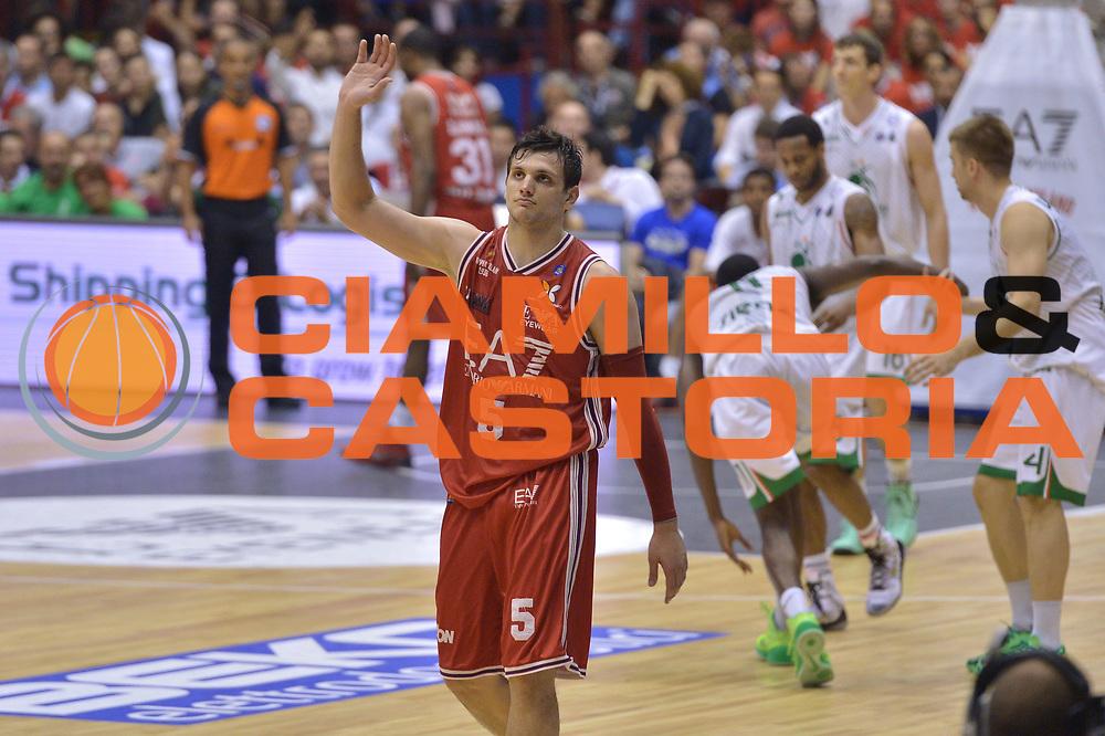 DESCRIZIONE : Milano Lega A 2013-14 EA7 Emporio Armani Milano vs Montepaschi Siena playoff Finale gara 7<br /> GIOCATORE : Alessandro Gentile<br /> CATEGORIA : Ritratto<br /> SQUADRA : EA7 Emporio Armani Milano<br /> EVENTO : Finale gara 7 playoff<br /> GARA : EA7 Emporio Armani Milano vs Montepaschi Siena playoff Finale gara 7<br /> DATA : 27/06/2014<br /> SPORT : Pallacanestro <br /> AUTORE : Agenzia Ciamillo-Castoria/I.Mancini<br /> Galleria : Lega Basket A 2013-2014  <br /> Fotonotizia : Milano<br /> Lega A 2013-14 EA7 Emporio Armani Milano vs Montepaschi Siena playoff Finale gara 7<br /> Predefinita :