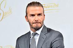 David Beckham in Tokyo - 5 Oct 2017
