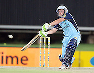 CENTURION, SOUTH AFRICA - 9  January 2009, Man of the Match Roelof van der Merwe during the MTN Domestic Championship Semi Final match between The Nashua Titans and The Nashua Cape Cobras held at SuperSport Park, Centurion, South Africa..Photo by Barry Aldworth/SPORTZPICS