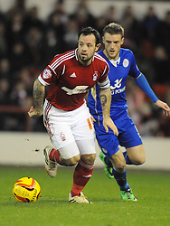 ANDY REID, Nottingham Forest, Nottingham Forest v Leicester City, City Ground Nottingham,  Sky Bet Championship, 19th Febuary 2014