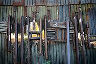 US- Mexico dorder fence in Nogales (US side).12/9/05.photos: Hector Emanuel