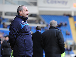 Reading Manager,Steve Clarke - Photo mandatory by-line: Alex James/JMP - Mobile: 07966 386802 - 24/01/2015 - SPORT - Football - Cardiff - Cardiff City Stadium - Cardiff City v Reading - FA Cup Fourth Round