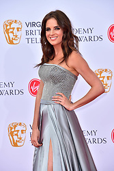 Binky Felstead attending the Virgin TV British Academy Television Awards 2018 held at the Royal Festival Hall, Southbank Centre, London.
