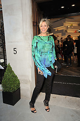 Nadja Swarovski at the opening party for Nicholas Kirkwood's new store at 5 Mount Street, London on 12th May 2011.