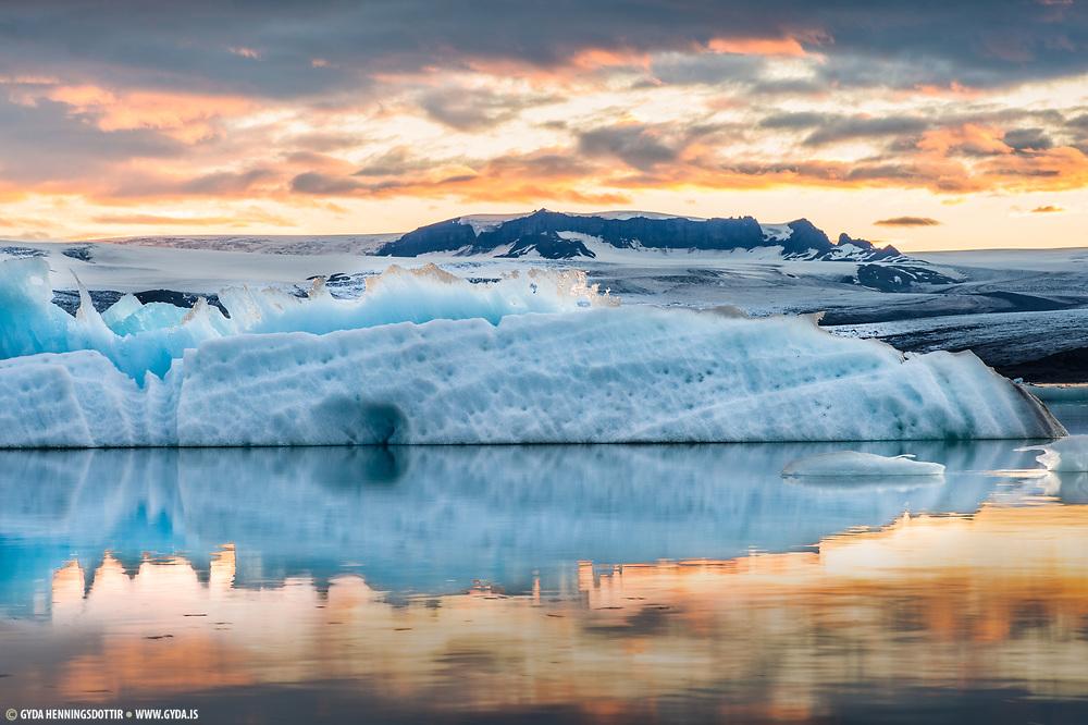 Taken in Southeast Iceland Jokulsarlon