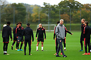 Arsenal Training Session - 18 October 2017