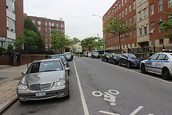 May 23, 2017 - Brooklyn, New York, United States - Shots fired near Brooklyn College, causing the school to go into lockdown. (Credit Image: © Roy Beckford/Pacific Press via ZUMA Wire)