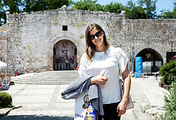 Manca Licen posing in the Fortress, on June 29, 2019 in Nis, Serbia. Photo by Vid Ponikvar / Sportida