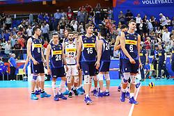 DELUSIONE ITALIA<br /> ITALIA - POLONIA<br /> PALLAVOLO VNL VOLLEYBALL NATIONS LEAGUE 2019<br /> MILANO 23-06-2019<br /> FOTO FILIPPO RUBIN