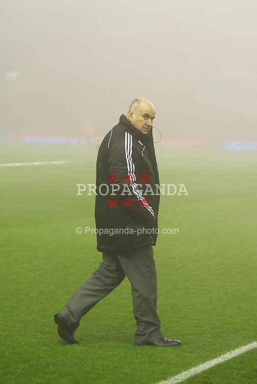 LIVERPOOL, ENGLAND - Monday, February 6, 2012: Liverpool's Stadium manager Ged Poynten before the Premiership match against Tottenham Hotspur at Anfield. (Pic by David Rawcliffe/Propaganda)