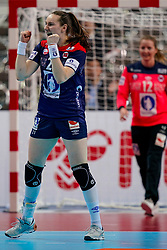 11-12-2019 JAP: Norway - Germany, Kumamoto<br /> Last match Main Round Group1 at 24th IHF Women's Handball World Championship, Norway win the last match against Germany with 32 - 29. / Ingvild Kristiansen Bakkerud #21 of Norway