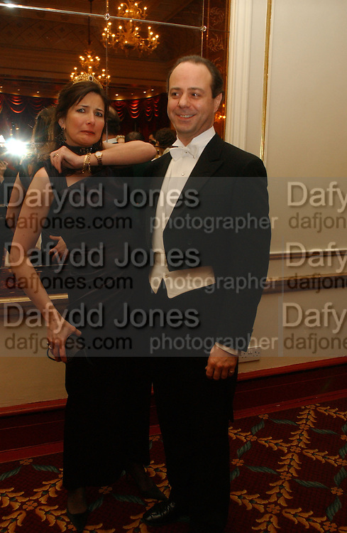 Chairman of the Committee, Prince and Princess Dmitri Lobanov-Rostovsky. The St. Petersburg Ball, In aid of the Children's Fire and Burn Trust-Russia 2005.  The Cafe Royal. 3 February 2006. -DO NOT ARCHIVE-© Copyright Photograph by Dafydd Jones 66 Stockwell Park Rd. London SW9 0DA Tel 020 7733 0108 www.dafjones.com