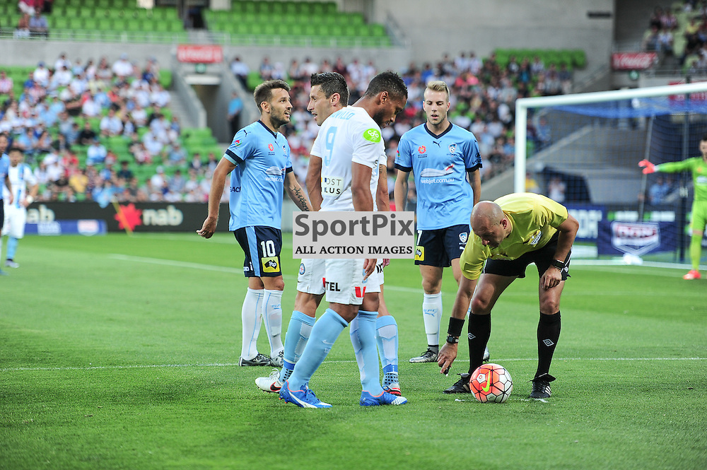 Hyundai A-League, January 2nd 2016, RD13 match between Melbourne City FC V Sydney FC at Aami Park, Melbourne, Australia in a 2:2 draw. © Mark Avellino | SportPix.org.uk