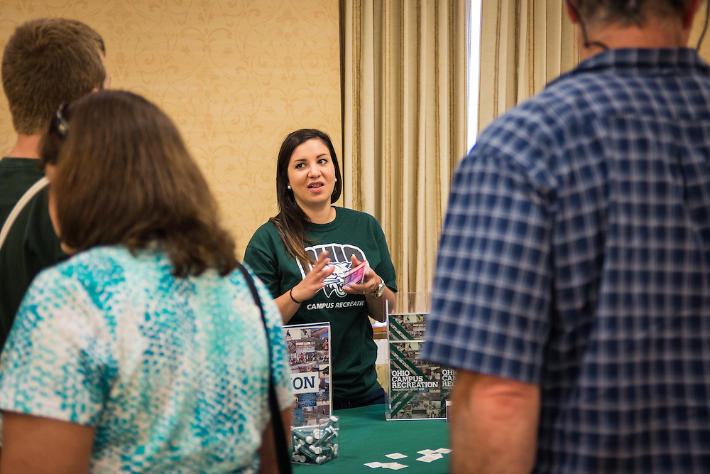 Members of the class of 2019 attended Bobcat Student Orientation on Friday, June 5, 2015.  Photo by Ohio University  /  Rob Hardin