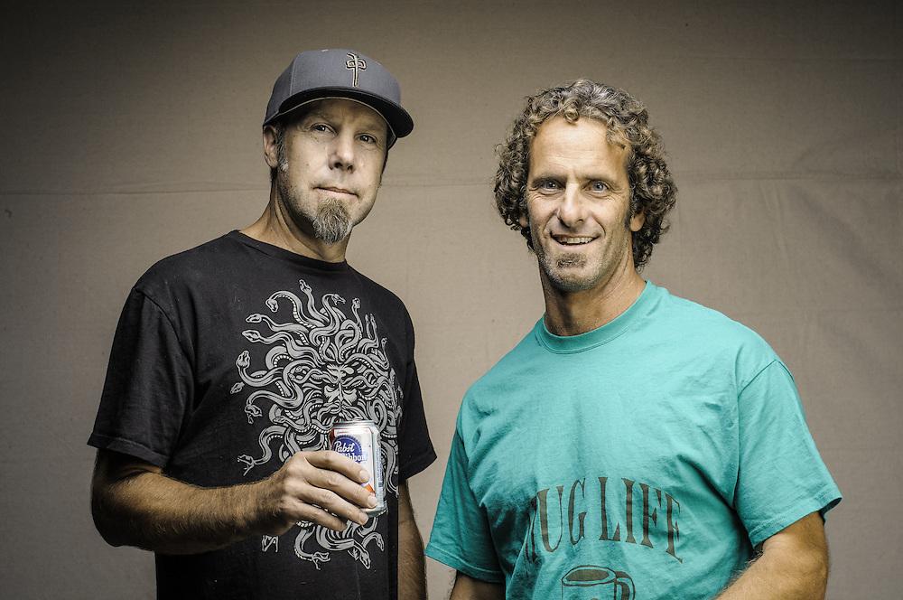 Paul Merrell (L), Mark Yanowsky (R)