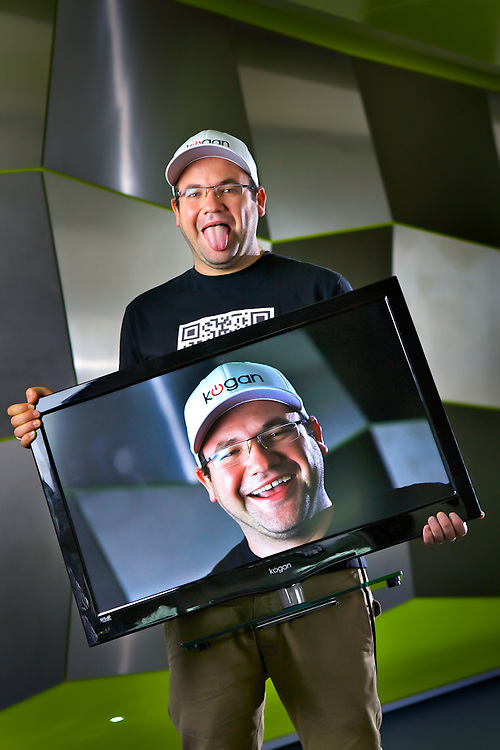 Ruslan Kogan sells TVs on the internet, he's the richest Australian under 30. Pic By Craig Sillitoe CSZ/The Sunday Age.8/3/2012