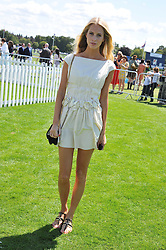 POPPY DELEVINGNE  at the 27th annual Cartier International Polo Day featuring the 100th Coronation Cup between England and Brazil held at Guards Polo Club, Windsor Great Park, Berkshire on 24th July 2011.