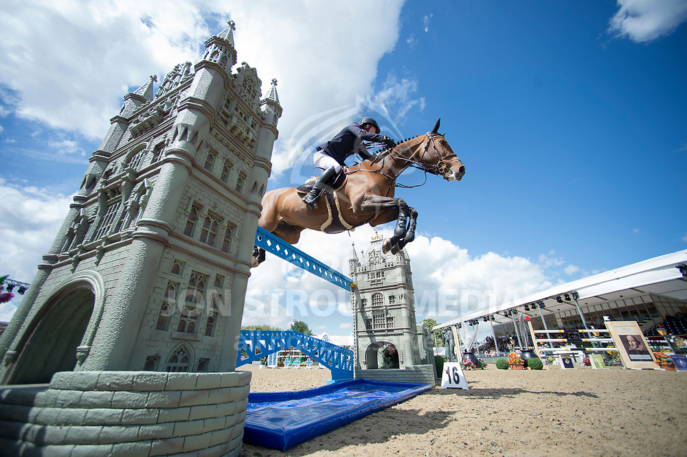 Michael  Whitaker  (GBR) & Jb´S Hot Stuff  - Rolex Grand Prix - CSI5* Jumping - Royal Windsor Horse Show - Home Park, Windsor, United Kingdom - 14 May 2017