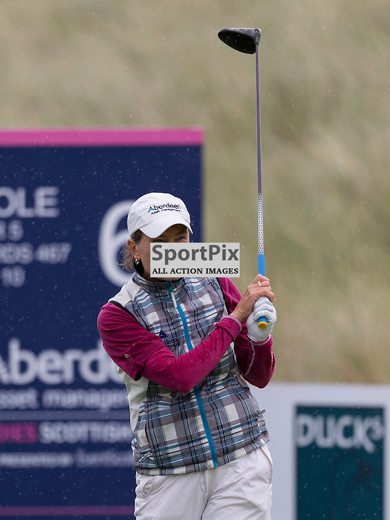 Ladies Scottish Open 2014<br /> <br /> Catriona MATTHEW in action during the Aberdeen Asset Management Ladies Scottish Open played at Archerfield Links 29-31 August 2014<br /> <br /> Picture: Alan Rennie