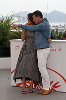 Actress Penelope Cruz and Actor Antonio Banderas at Dolor Y Gloria (Pain and Glory) film photo call at the 72nd Cannes Film Festival, Saturday 18th May 2019, Cannes, France. Photo credit: Doreen Kennedy