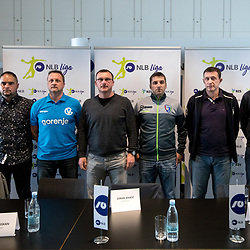 20170315: SLO, Handball - Press conference of Liga NLB 2016/17 before the end of the season