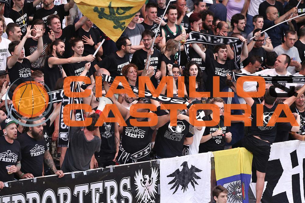Tifosi Trento, Dolomiti Energia Trentino vs Umana Reyer Venezia LBA Serie A Playoff Finale gara 6 stagione 2016/2017 Pala Trento, Trento 20 giugno 2017