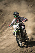 Andy Dunaway photographed Motor Cross at the Aztec Race Track during the Clarkson Sports Workshop in Colorado Springs, Colo, on July 20, 2013. Andy used an Nikon D4, 80-400mm, XQD card.