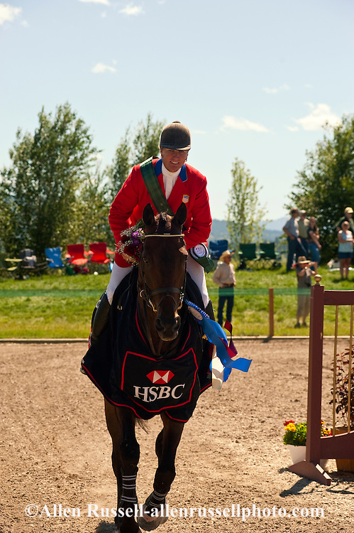 Eventing, Show Jumping, Rebecca Farms, HSBC FEI World Cup Eventing, Kalispell, Montana, Karen O'Connor, Thoroughbred, CIC3 Winner