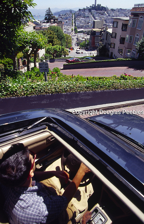 Lombard Street, San Francisco, California<br />