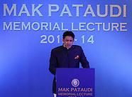 Cricket - Second Mansoor Ali Khan Pataudi Memorial Lecture