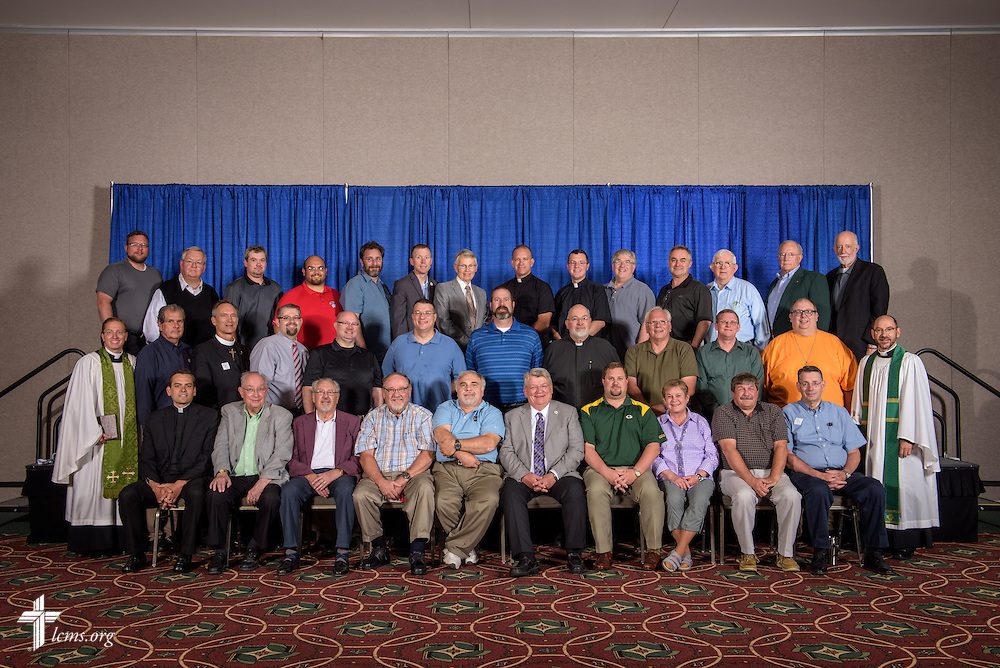 South Wisconsin District group photograph on Monday, July 11, 2016, at the 66th Regular Convention of The Lutheran Church–Missouri Synod, in Milwaukee. LCMS/Erik M. Lunsford