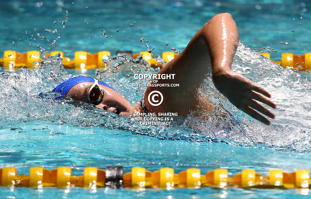 DURBAN, SOUTH AFRICA, February 6 2016 -  Kate Beavon Women  400m LC Freestyle during Day 3  the second&nbsp;leg of the 2016 South African Swimming Grand Prix series at the  Kings Park Swimming Pool Durban South Africa. (Photo by Steve Haag)<br /> Images for social media must have consent from Steve Haag