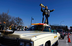 Feb 6, 2011; Arlington, TX, USA; A fan of the Green Bay Packers cheers before Super Bowl XLV against the Pittsburgh Steelers at Cowboys Stadium.  Green Bay defeated Pittsburgh 31-25.