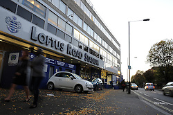 Lotus Road Stadium - Photo mandatory by-line: Dougie Allward/JMP - Mobile: 07966 386802 - 27/10/2014 - SPORT - Football - London - Loftus Road - Queens Park Rangers v Aston Villa - Barclays Premier League