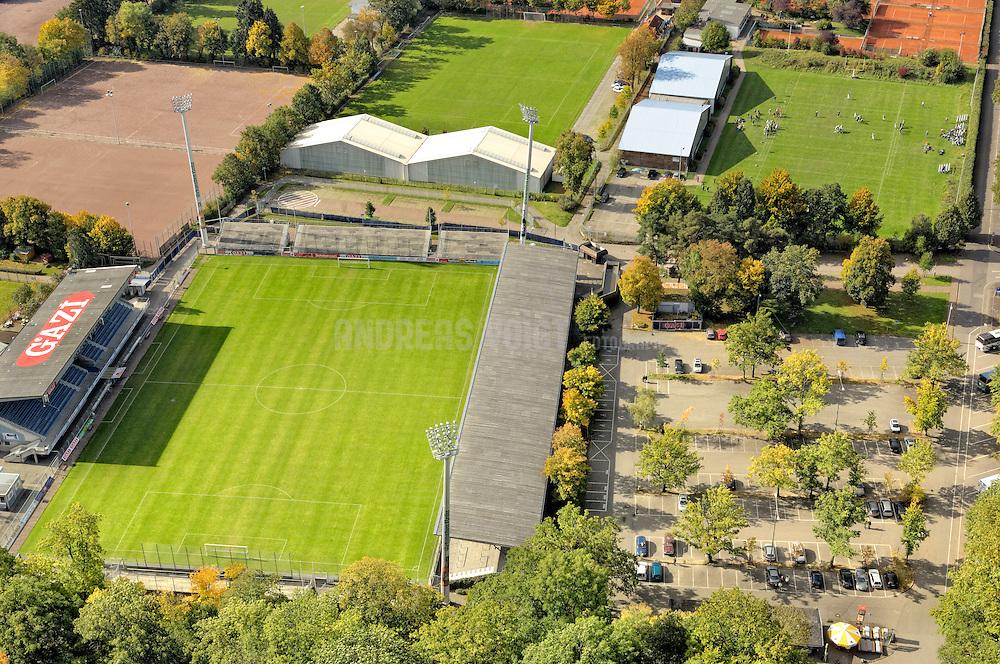 GAZI-Stadion in Stuttgart-Degerloch