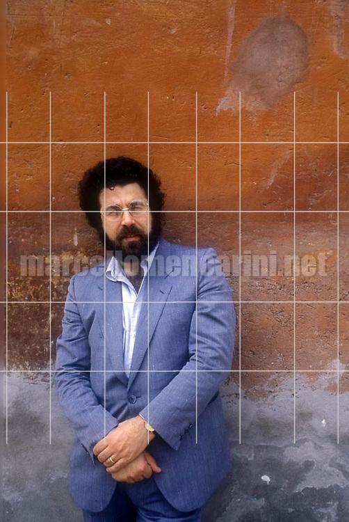 Italian conductor Giuseppe Sinopoli (1983) / Il direttore d'orchestra Giuseppe Sinopoli (1983) - © Marcello Mencarini