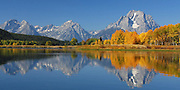 Mt Moran & Oxbow Bend