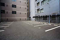 Japan Osaka Empty parking lot