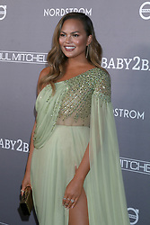November 9, 2019, Culver City, CA, USA: LOS ANGELES - NOV 9:  Chrissy Teigen at the 2019 Baby2Baby Gala Presented By Paul Mitchell at 3Labs on November 9, 2019 in Culver City, CA (Credit Image: © Kay Blake/ZUMA Wire)