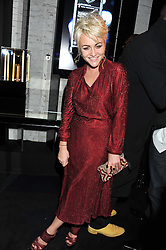 JAIME WINSTONE at a party to celebrate the launch of the new Vertu Constellation phone - the luxury phonemakers first touchscreen handset, held at the Farmiloe Building, St.John Street, Clarkenwell, London on 24th November 2011.